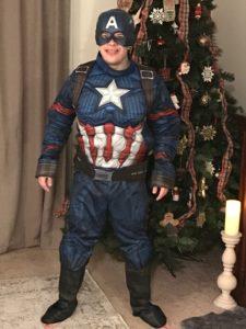Hunter Captain America